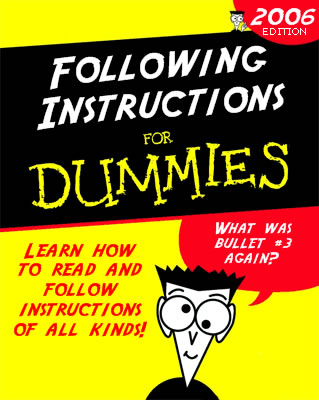 twitter instructions for dummies