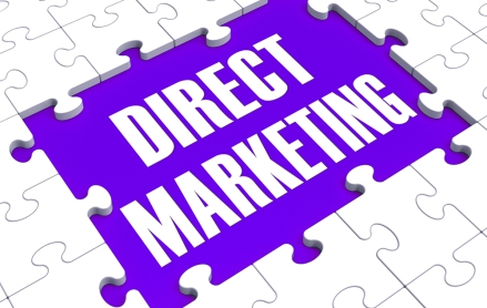 Direct Marketing Shows Targeting Clients And Personalized Sales
